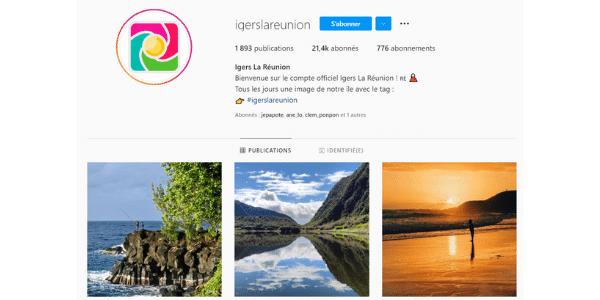 Biographie Instagram avec Hashtag